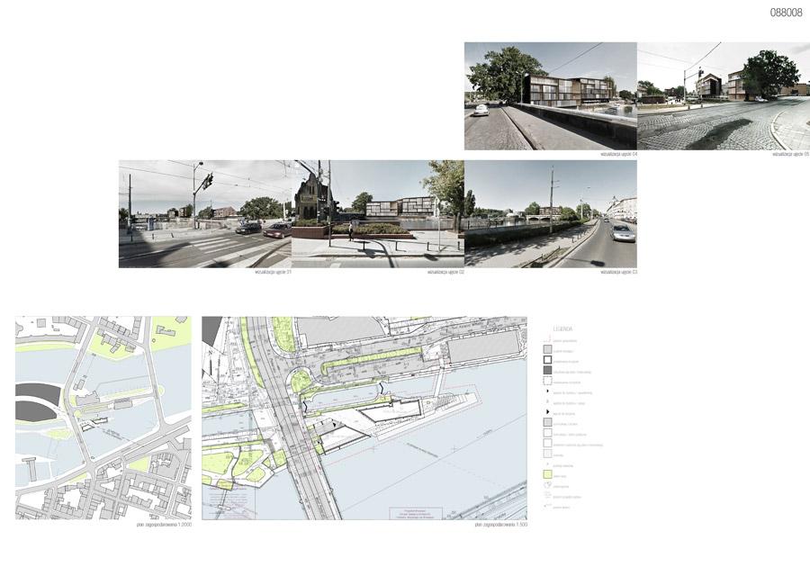 Konkurs na projekt Wyspy Pomorskiej we Wrocławiu
