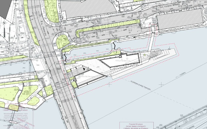 Plan zagospodarowania terenu Wyspy Pomorskiej we Wrocławiu