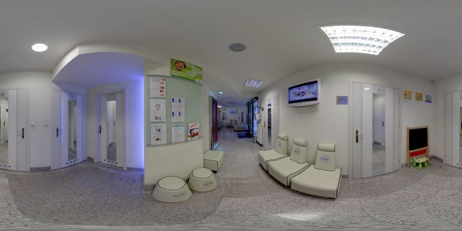 Projekt wnętrza gabinetu stomatologicznego