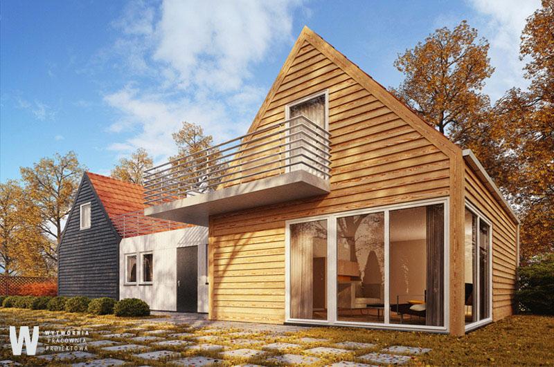 Projekt domu jednorodzinnego we Wrocławiu