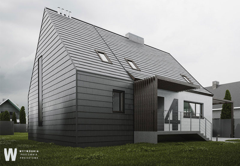 Dom jednorodzinny we Wrocławiu