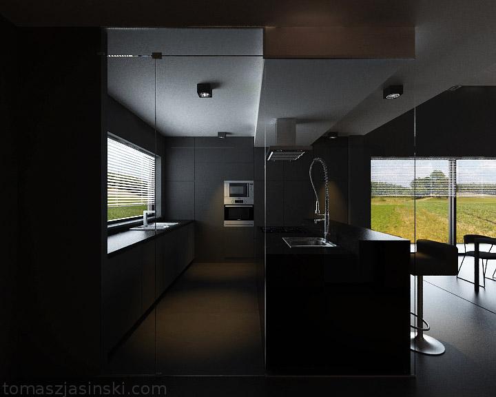 Projekt wnętrz mieszkania pod Lubinem