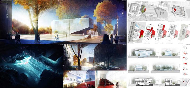Gdyńska Szkoła Filmowa projektu Arch Deco