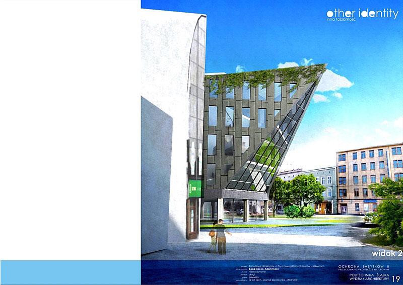 Projekt zabudowy działki w Gliwicach