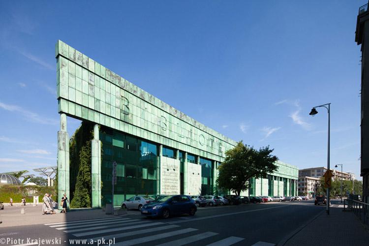 Budynek Biblioteki Uniwerstytetu w Warszawie