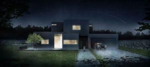 Eco House w malowniczym Dzikowcu projektu BXB Studio Bogusław Barnaś