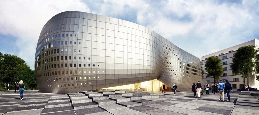 Gdyńska Szkoła Filmowa. Projekt: Mobius Architekci