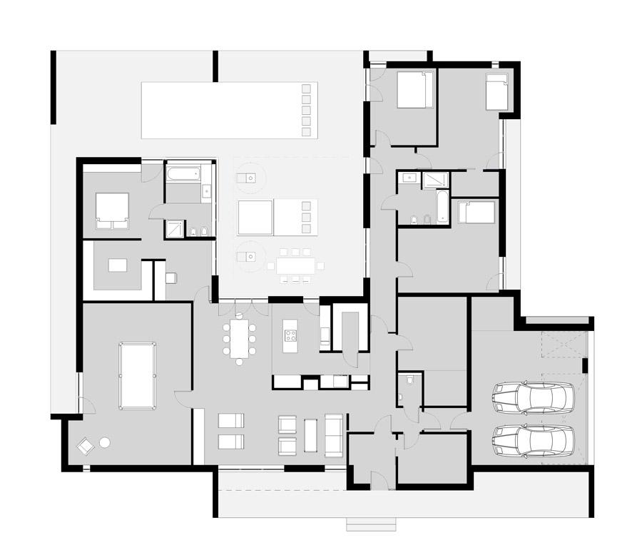 Projekt domu jednorodzinnego w Krakowie