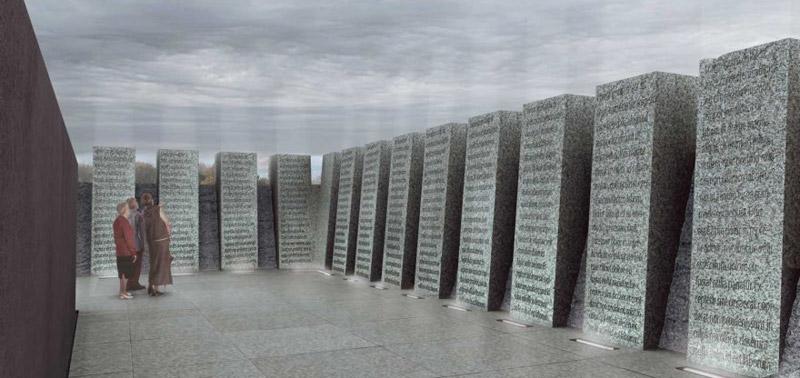 Projekt pomnika pamięci