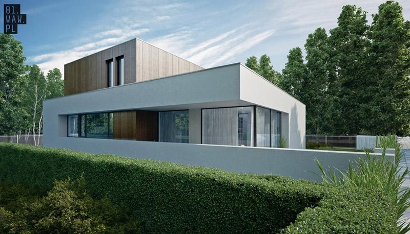 Dom jednorodzinny projektu 81.WAW.PL