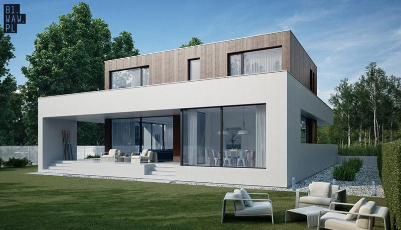 Projekt domu jednorodzinnego w Warszawie