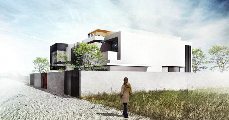 Dom jednorodzinny w Krakowie