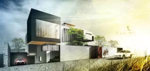 Skyfall House – BXB Studio Bogusław Barnaś