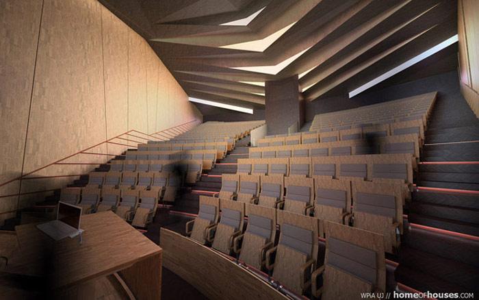 Projekt sali audytoryjnej