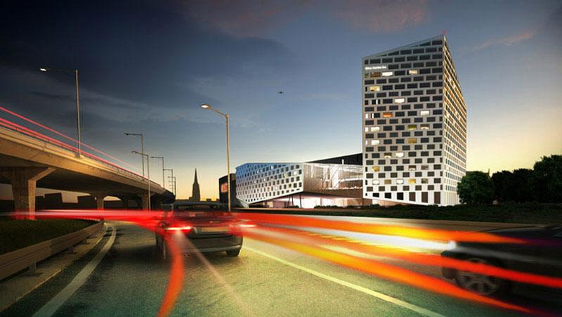 Projekt Hotelu Hilton w Katowicach