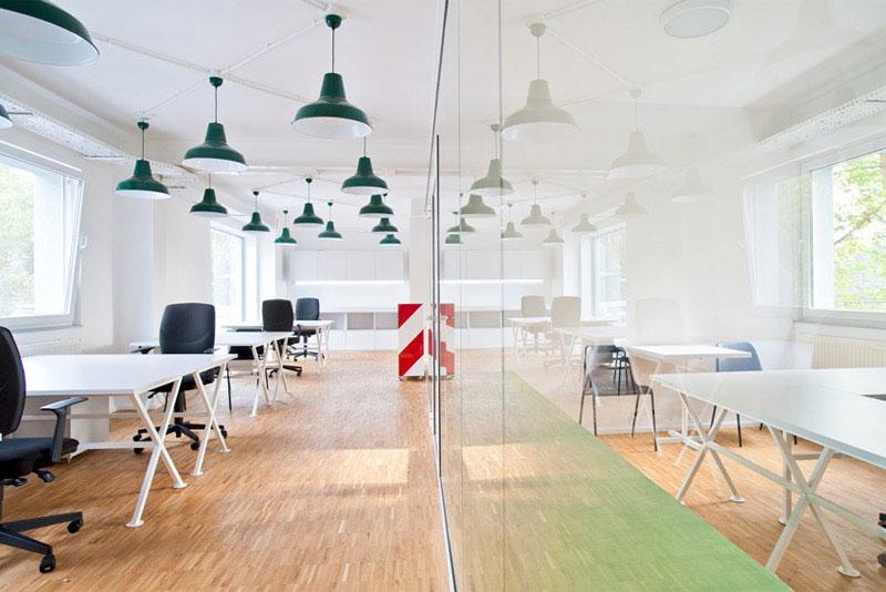 Aranżacja pomieszczeń biurowych