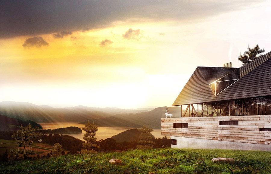 Architektura domów jednorodzinnych