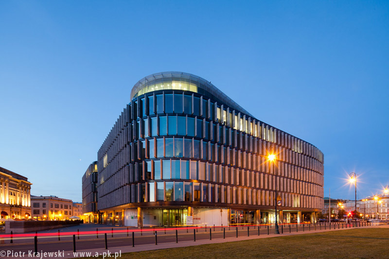 Biurowiec Metropolitan w Warszawie projektu Normana Fostera
