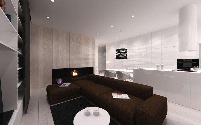Apartament na Nowym Powiślu
