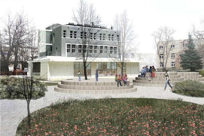 Rozbudowa Teatru Ochota w Warszawie