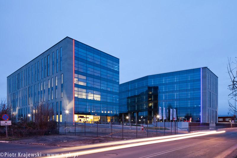 Biurowce w Szczecinie