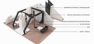 Aranżacja wnętrz adaptowanego strychu – ID CODE