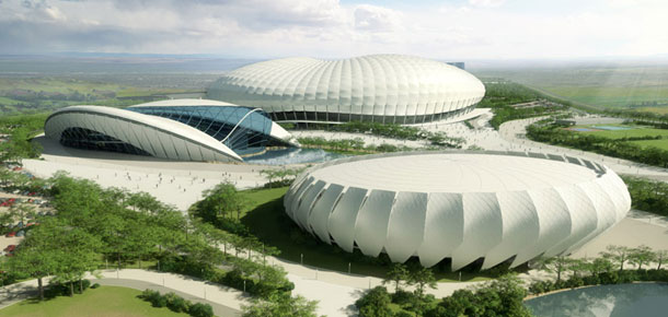 Kompleks sportowy w Algierii