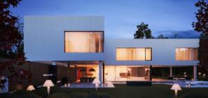 Projekt domu Black & White – Studio Organic
