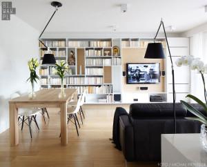 Apartament ocieplony drewnem – 81.WAW.PL