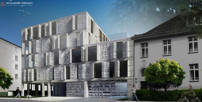 Budynek apartamentowy przy ul. Chopina w Krakowie