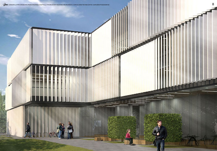 Budynek ICM Uniwersytetu Warszawskiego