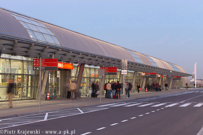 Lotnisko w Modlinie. Zdj. Piotr Krajewski