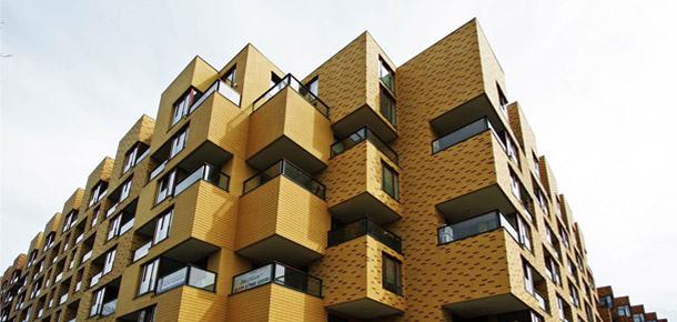 Budynek mieszkalny Corte Verona we Wrocławiu. Zdjęcia: Małgorzata Smierzchalska