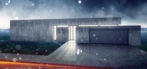 Dom – beton z zapierającymi dech przeszkleniami. Projekt: 81.WAW.PL
