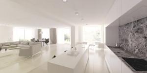 Wnętrze domu jednorodzinnego – AJOT Pracownia Projektowa