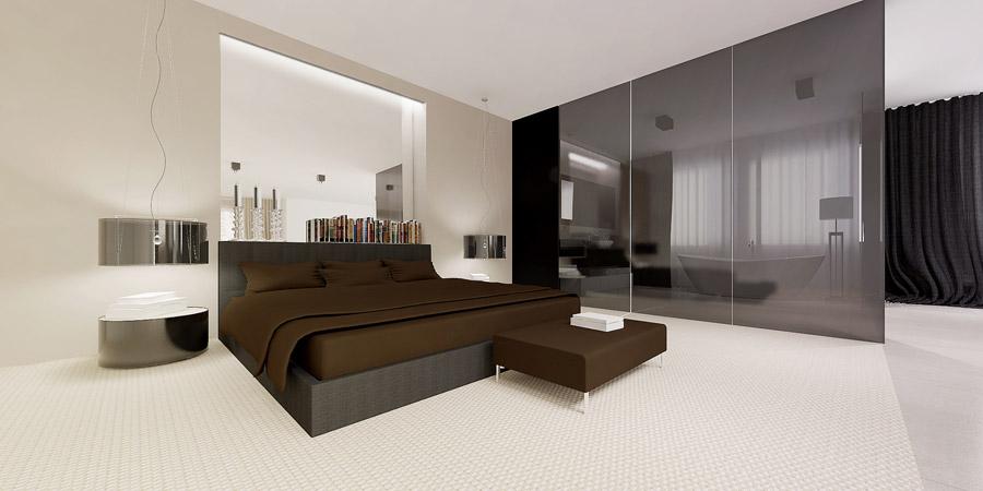 Wnętrze domu jednorodzinnego. Projekt: AJOT Pracownia Projektowa