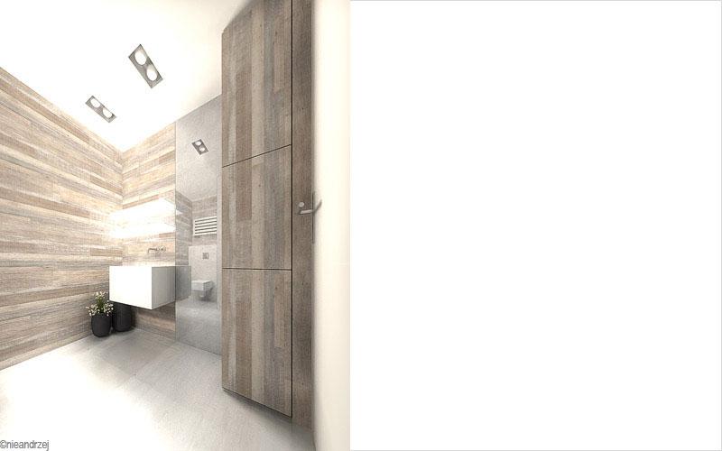 Aranżacja domu na Kaszubach. Projekt: Andrzej Niegrzybowski