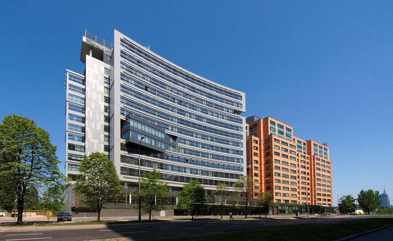 Budynki Biurowe Equator i Zenith w Warszawie