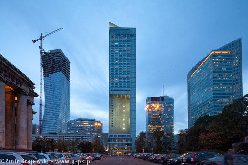 Hotel InterContinental w Warszawie. Zdjęcia: Piotr Krajewski