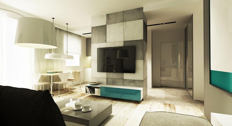 Mieszkanie na warszawskim Nowym Żoliborzu. Projekt: K + K Architekci