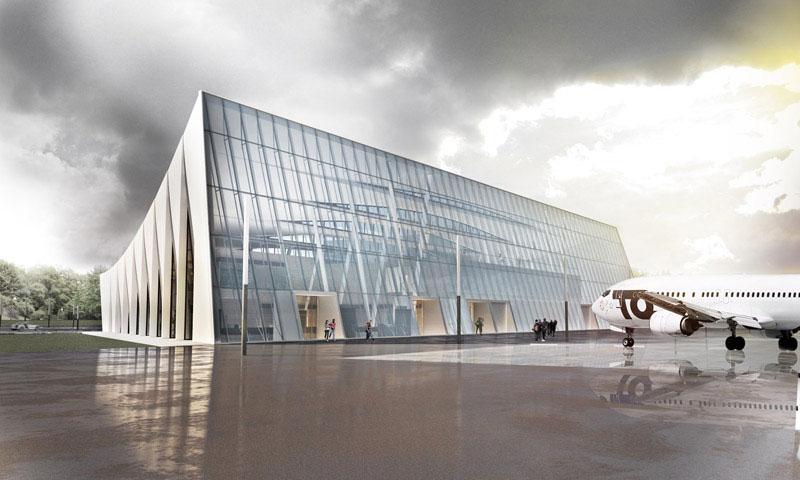 Terminal Portu Lotniczego w Szymanach – MOM Architects