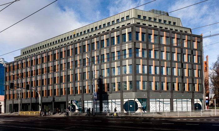 Budynki biurowej, Brama Portowa, Szczecin