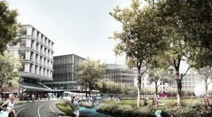 Plac Narutowicza w Warszawie. Projekt: UGO architecture + Adam Wierciński + Kooper