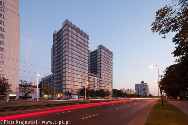 Apartamenty M2 w Warszawie - JEMS Architekci. Zdj. Piotr Krajewski