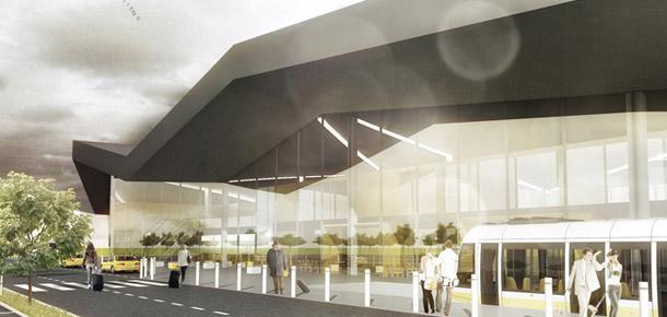 Terminal Portu Lotniczego w Szymanach. Projekt: MAAG Studio Projektowe