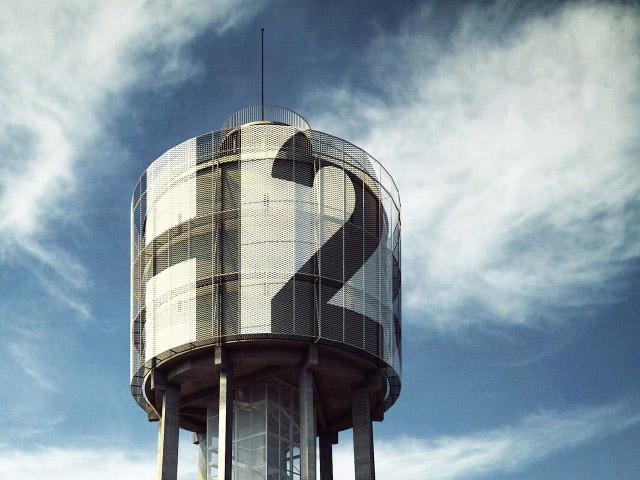 H2O Wieża ciśnień w Bytomiu. Projekt: Medusa Group