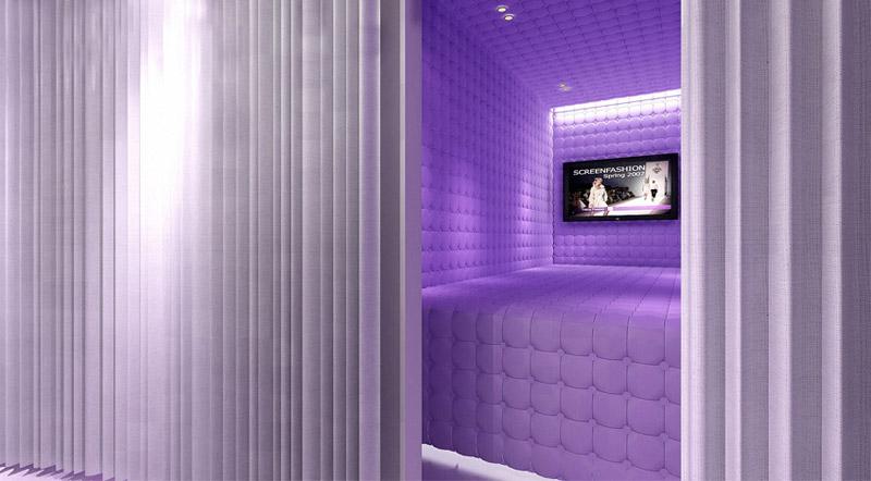Projekt aranżacji wnętrza klubu Kokoo