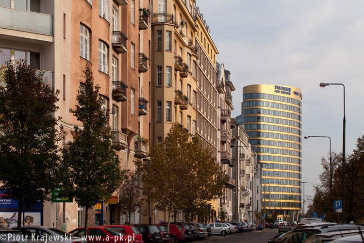 Biurowiec Zebra Tower w Warszawie. Zdj. Piotr Krajewski