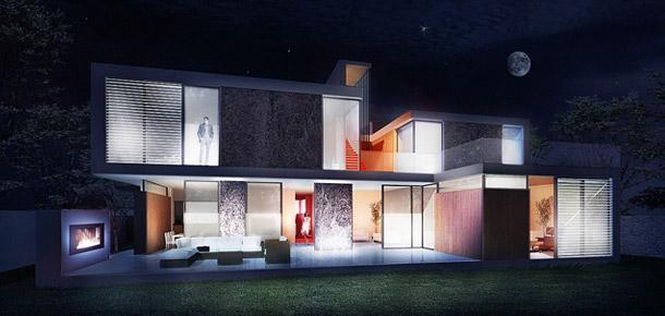 Skyfall House 2. Projekt: BXB Studio Bogusław Barnaś