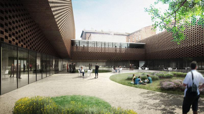 Wydział Radia i Telewizji Uniwersytetu Śląskiego w Katowicach. Projekt: Grupa 5 Architekci + BAAS